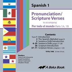 Spanish 1 Pronunciation/Scripture CD