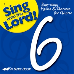 Grade 6 Sing unto the Lord CD