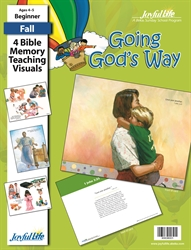 Going God's Way Beginner Bible Memory Verse Visuals