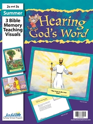 Hearing God's Word 2s & 3s Bible Memory Verse Visuals