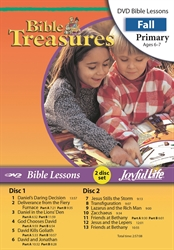 Bible Treasures Primary Bible Lesson DVD