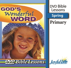 God's Wonderful Word Primary Bible Lesson DVD