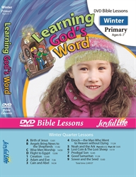 Learning God's Word Primary Bible Lesson DVD