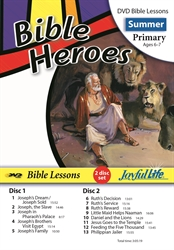 Bible Heroes Primary Bible Lesson DVD