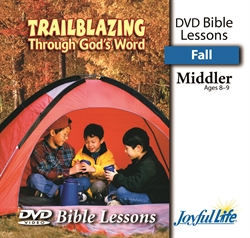 Trailblazing Through God's Word Middler Bible Lesson DVD