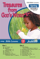 Treasures from God's Word Middler Bible Lesson DVD