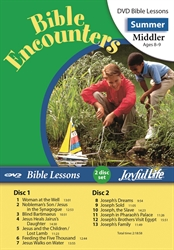 Bible Encounters Middler Bible Lesson DVD