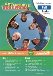 Adventures in God's Word Junior Bible Lesson DVD