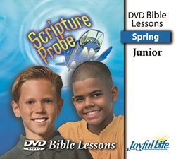 Scripture Probe Junior Bible Lesson DVD