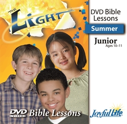 The Light Junior Bible Lesson DVD