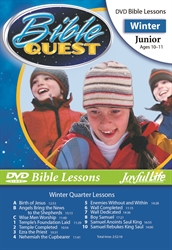 Bible Quest Junior Bible Lesson DVD