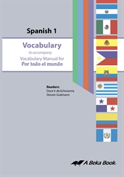 Spanish 1 Vocabulary CD