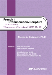 French 1 Pronunciation/Scripture CD