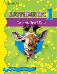 Arithmetic 1 Tests and Speed Drills Key