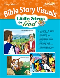 Little Steps to God 2s & 3s Bible Lesson Guide