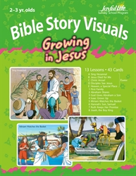Growing in Jesus 2s & 3s Bible Lesson Guide