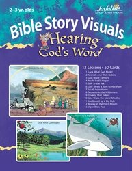 Hearing God's Word 2s & 3s Bible Lesson Guide