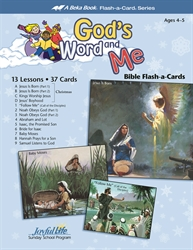 God's Word and Me Beginner Bible Lesson Guide
