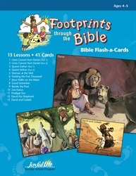 Footprints Through the Bible Beginner Bible Lesson Guide