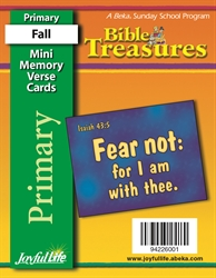 Bible Treasures Primary Mini Memory Verse Cards