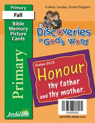 Discoveries in God's Word Primary Mini Memory Verse Cards