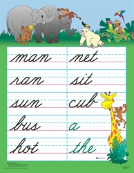 Spelling 1 Teaching Charts (Cursive)