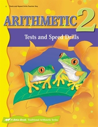 Arithmetic 2 Tests and Speed Drills Key