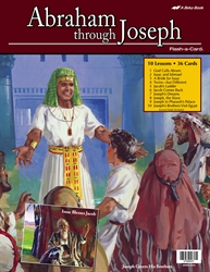 Abraham Through Joseph Flash-a-Card