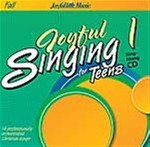 Joyful Singing for Teens #1 CD