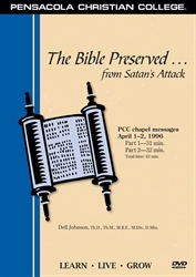 The Bible Preserved from Satan's Attack DVD