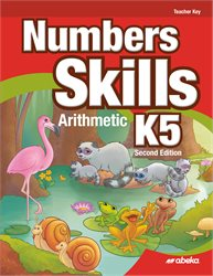 Numbers Skills K5 Teacher Key