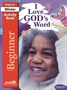I Love God's Word Beginner Activity Book Thumbnail