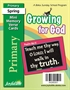 Growing for God Primary Mini Memory Verse Cards Thumbnail