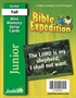 Bible Expedition Junior Mini Memory Verse Cards Thumbnail